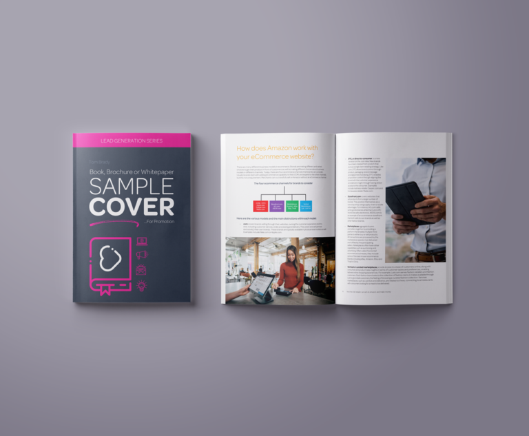 eBook Cover Mockup Ad Size Template
