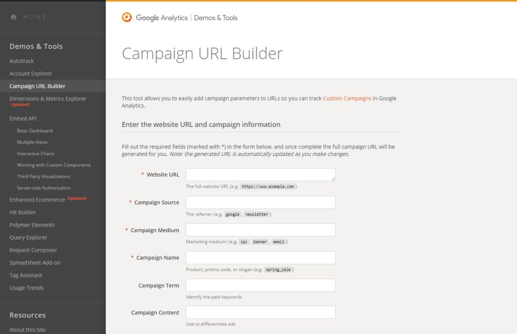 google-url-builder-interface