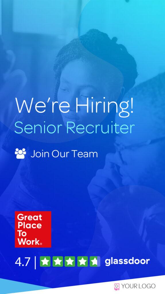 recruitment Ad Builder Instagram Stories