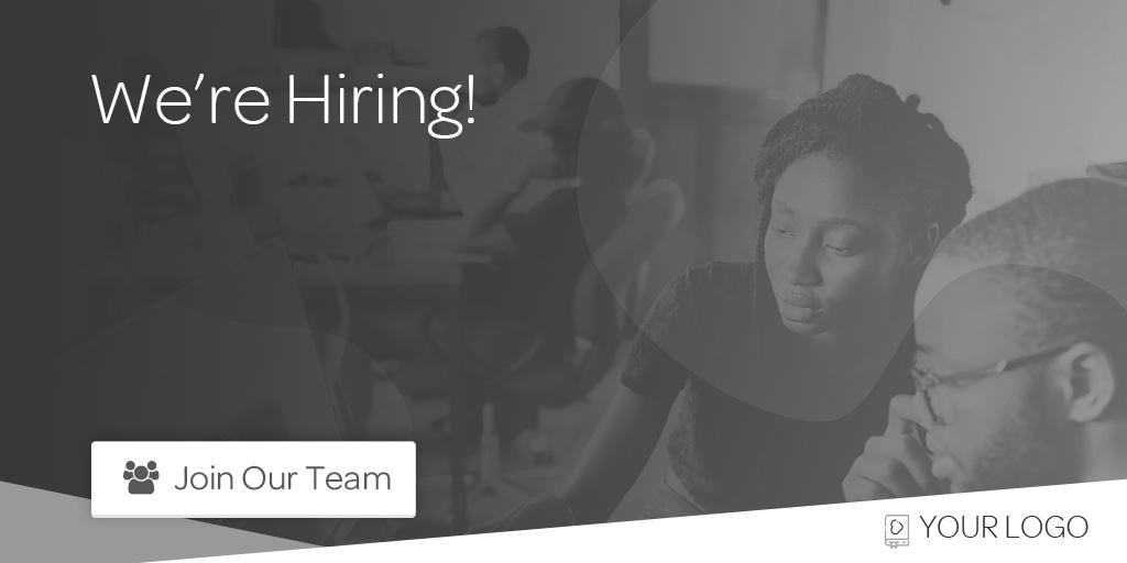 Recruitment job advert template